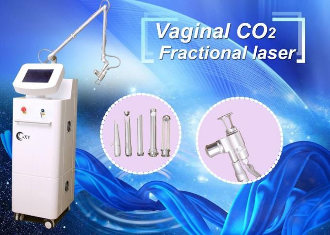 Moderne Begriffsbruchco2-Laser-Maschinen-Haut, die Laser-System abzieht